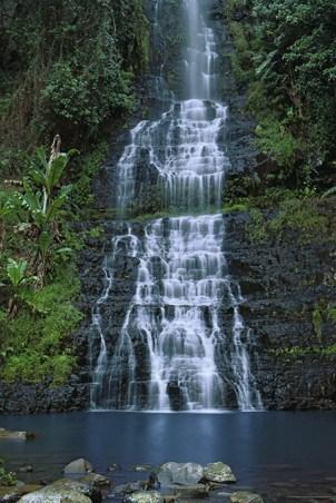 Waterfall - Bridal Veil Falls, Zimbabwe