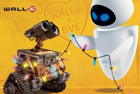 Robots in Love - Wall-E + Eve