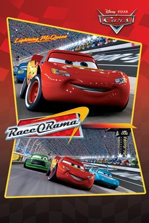 Lightning McQueen Race-O-Rama - Cars: The Movie