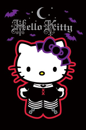Gothic Style - Hello Kitty