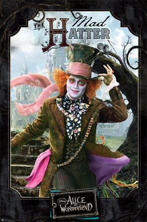 The Mad Hatter Welcomes You ! - Tim Burton's Alice in Wonderland