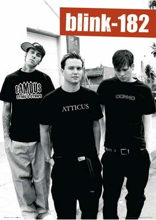 Blink 182 Band Portrait - Blink 182