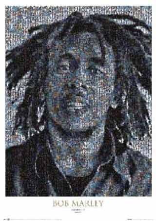Bob Marley Mosaic II - Bob Marley