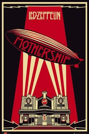 Mothership Album Art - Led Zeppelin
