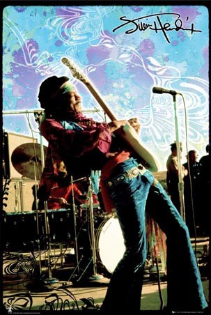 Live on Stage - Jimi Hendrix