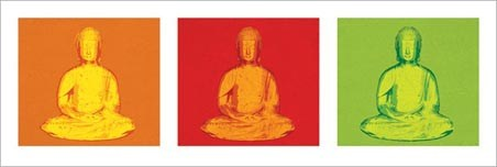 Buddha - Pop Art Style Buddha