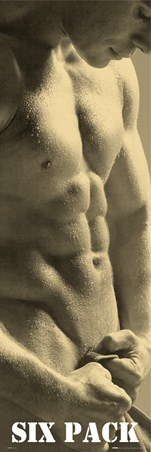 Six Pack - Defined Male Torso