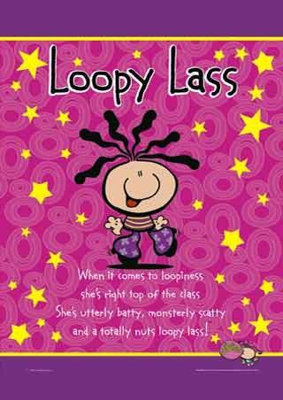 Loopy Lass - Bubblegum Character