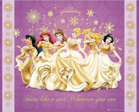 Shine Like a Star - Disney Princesses