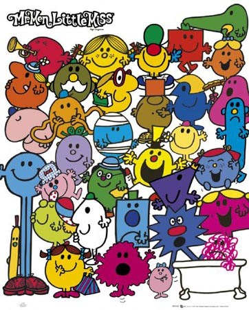 Mr Bump, Little Miss Sunshine and Friends. - Mr Men and Little Miss by Roger Hargreaves