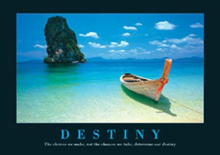 Canoe on the Shore - Destiny, Aspirational