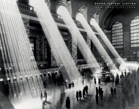 Grand Central Station - New York City, 1930