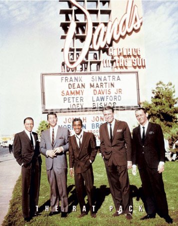 The Rat Pack - Sinatra, Davis JR, Martin, Lawford - Live at The Sands Hotel & Casino, Las Vegas