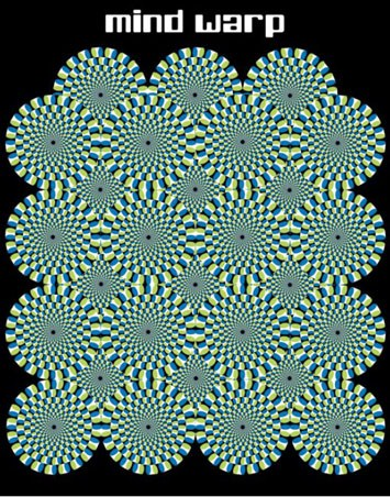 Mind Warp, Optical Illusion  PopArtUK