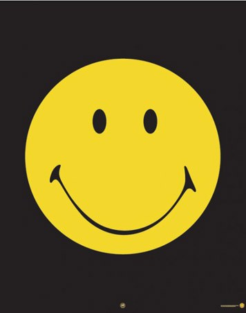 Yellow Smiley Face Smiley Poster Buy Online
