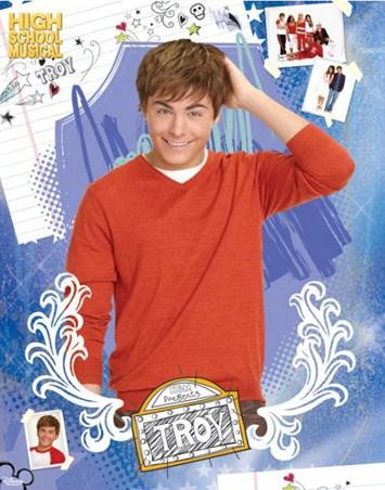 Troy Bolton Portrait - High School Musical