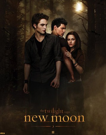 Bella with Edward and Jacob - Who will she choose in the Twilight Saga?