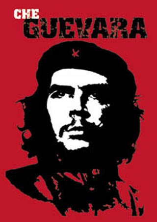 Red Pop Art Revolutionary - Che Guevara
