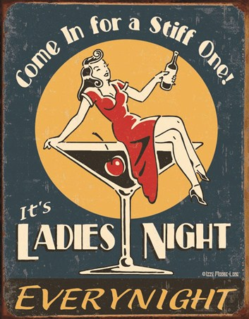 Ladies Night - Retro Humour