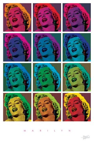 Marilyn - Pop Art featuring Marilyn Monroe