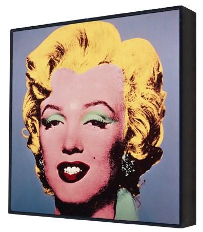 Marilyn Monroe (Marilyn), 1967 (pale blue) - Andy Warhol Box Print