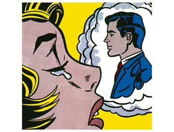 Thinking of Him - Roy Lichtenstein
