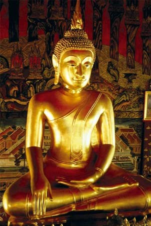 Golden Buddha Statue - Buddha
