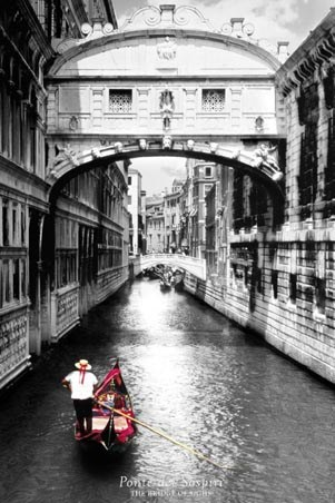 The Bridge of Sighs - Venice Photography
