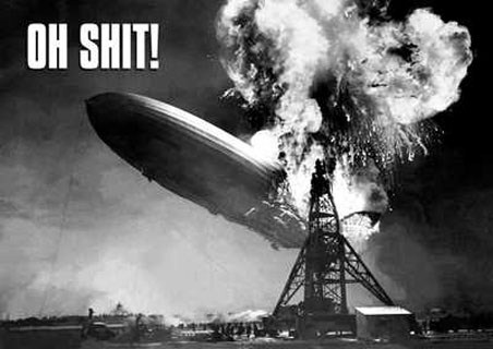 Airship Hindenburg - Oh Shit!
