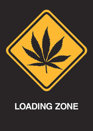 Loading Zone - Road Sign