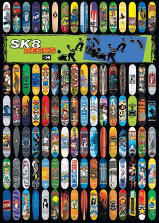 Sk8 Decks - Skate Boards