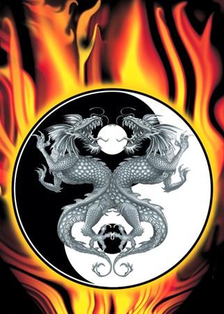 Ying and Yang - Dragons