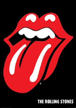 Tongue Logo - Rolling Stones