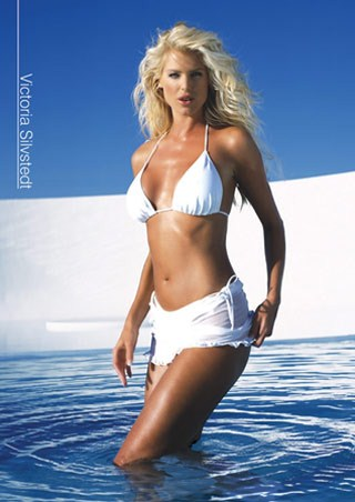 Swedish Blonde Bombshell - Victoria Silvstedt