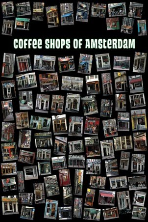 Coffee Shops of Amsterdam - Amsterdam, Holland