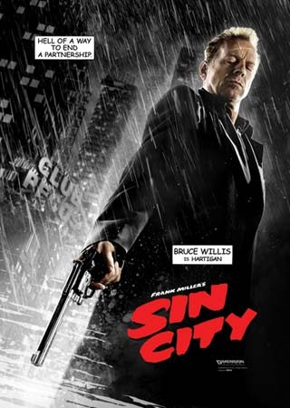 Bruce Willis is Hartigan - Sin City