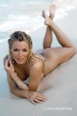 Beauty on the Beach - Nell McAndrew