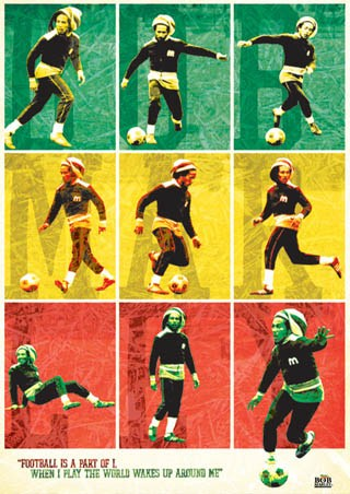 Football is Part of I - Bob Marley