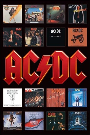 Album Cover Art - AC/DC