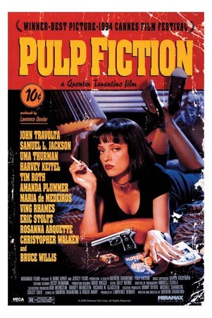 Movie One Sheet - Pulp Fiction