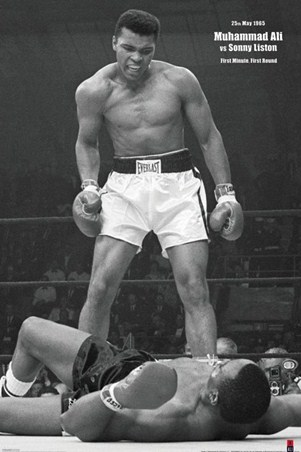 First Minute. First Round. - Ali versus Liston
