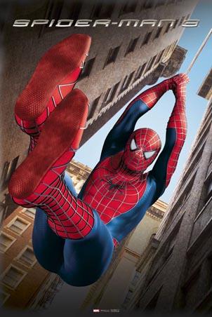 Spiderman Swinging between the Buildings - Spiderman 3