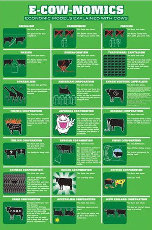 E-Cow-Nomics - Economic Models Explained With Cows.