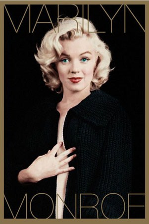 marilyn monroe black and gold marilyn monroe poster buy online. Black Bedroom Furniture Sets. Home Design Ideas