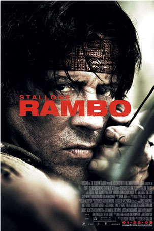 Rambo: One Sheet Movie Score - Rambo (2008)