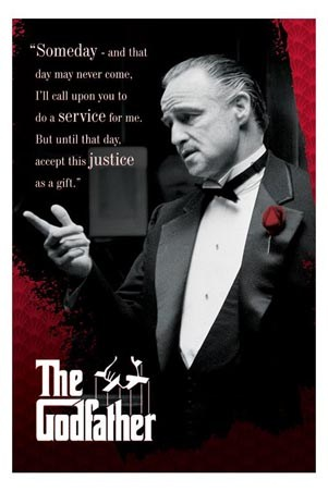 Marlon Brando is The Godfather - Someday, and That Day May Never Come…