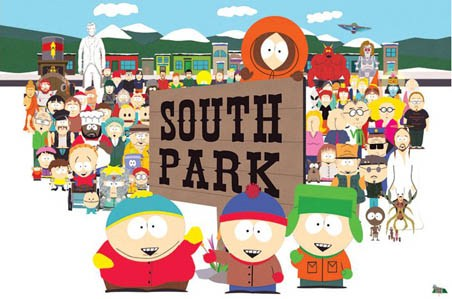 The Opening Scene Characters - TV Series South Park