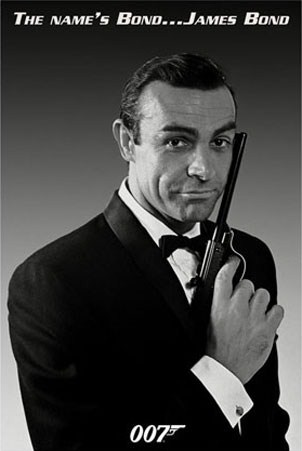 Sean Connery is James Bond - The Name's Bond... James Bond