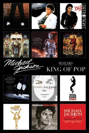 King of Pop - Michael Jackson Album CoversKing Of Pop Album