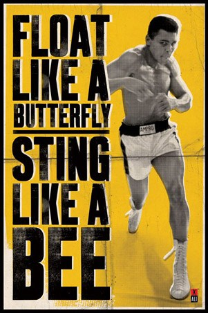 Float Like a Butterfly - Muhammad Ali